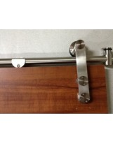 Geneva Stainless Steel Barn Door Hardware for Wood Doors