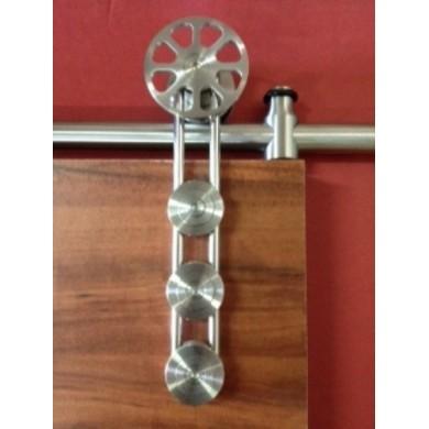 Venice Barn Door Hardware for Sliding Wood Doors