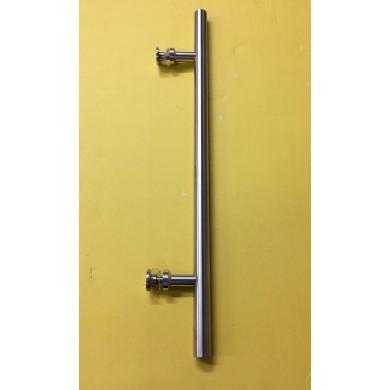 """16"""" Satin Stainless Steel Door Handle"""