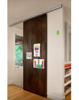 Torino Ceiling Mounted Track System for Sliding Wood Doors
