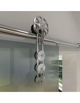 Palermo Barn Door Hardware for Glass Doors