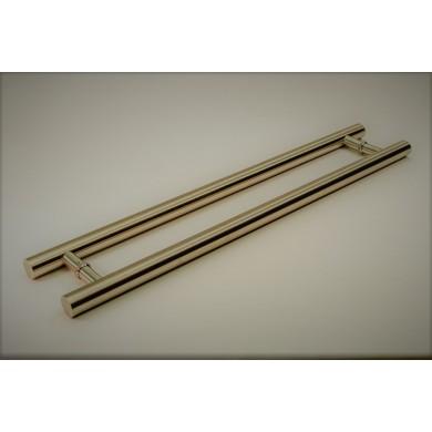 """16"""" Gold Stainless Steel Door Handle"""