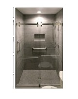 Bali Stainless Steel Shower Enclosure Hardware