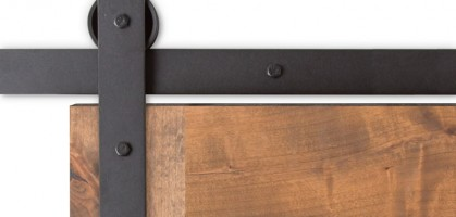 Premium Interior Sliding Barn Door Hardware for Residential Sector